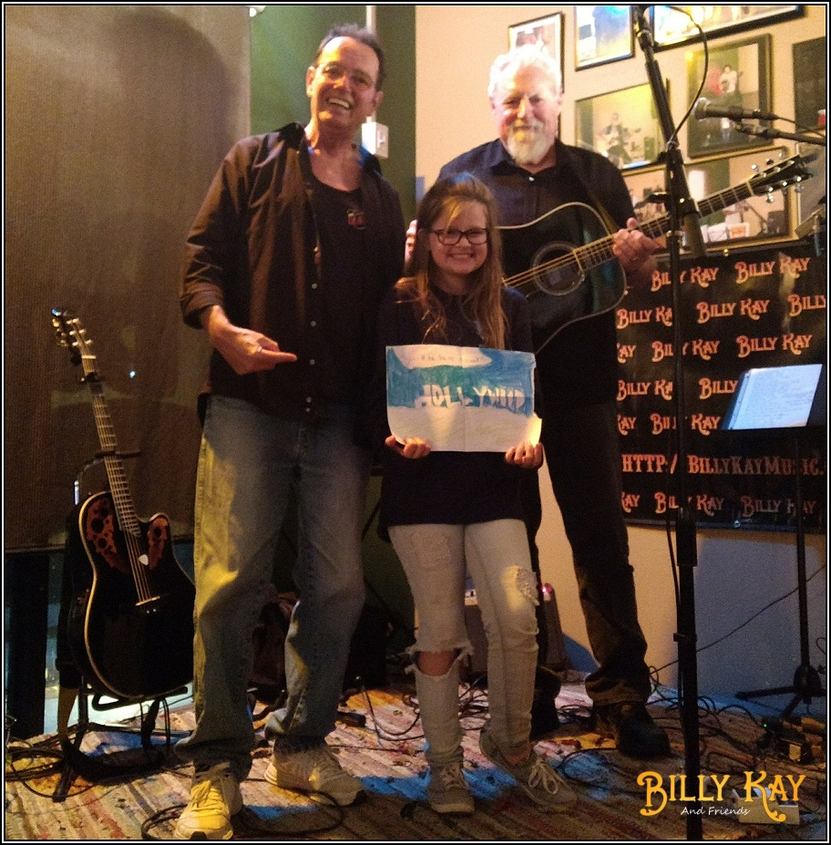 Billy Hailey and Matt at Lisas Bistro 20180208