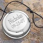 Personalized Silver-Plated Yo-Yo