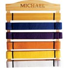 Personalized Karate Belt Holder